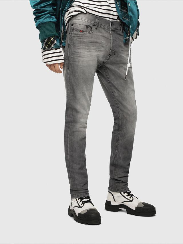3d6381f58cb TEPPHAR 084HP Men  Slim Light grey Jeans