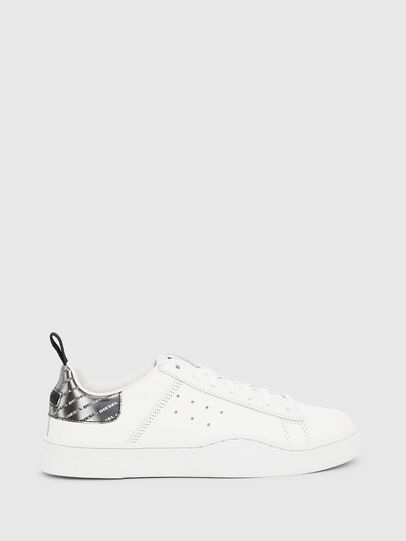 Diesel - S-CLEVER LOW W, White/Silver - Sneakers - Image 1
