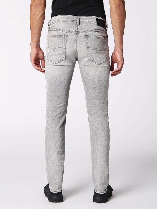 Diesel - BUSTER 0699J, Light Grey - Jeans - Image 2