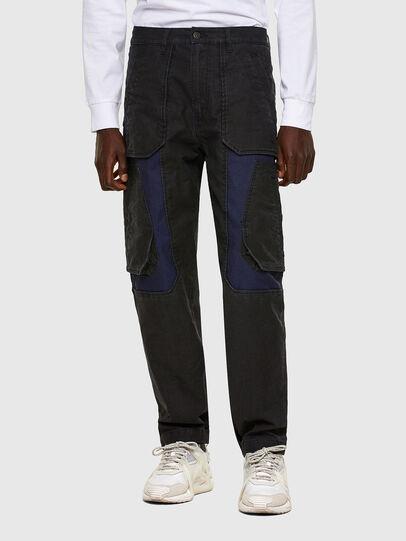 Diesel - D-Eluxerr JoggJeans® 0DDAV, Black/Dark grey - Jeans - Image 1