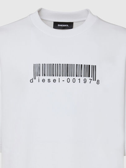 Diesel - S-COOLING-X10, White - Sweaters - Image 3