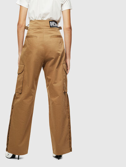 Diesel - P-CHIKU, Light Brown - Pants - Image 2