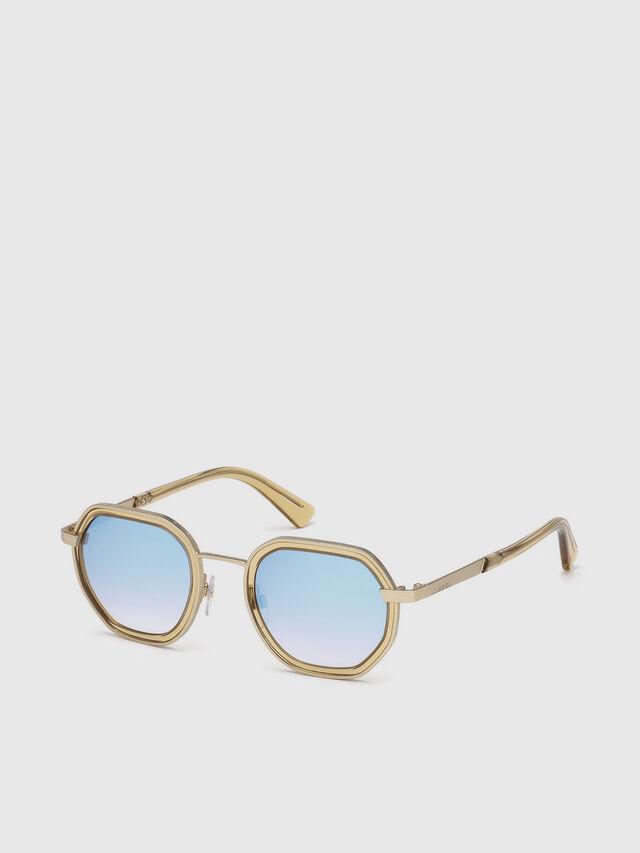 Diesel - DL0267, Gold - Eyewear - Image 2