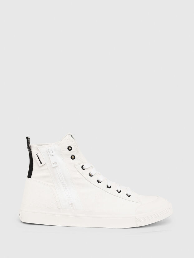 S-ASTICO MID ZIP, White - Sneakers