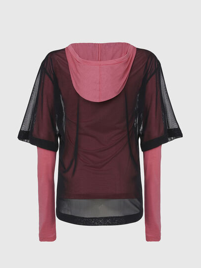Diesel - T-LAYER, Pink - Tops - Image 2
