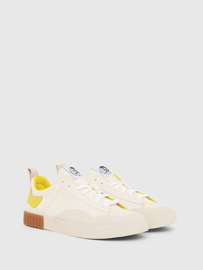 Diesel - S-BULLY LC, White/Yellow - Sneakers - Image 2
