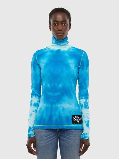 Diesel - T-LAPIS, Blue - T-Shirts - Image 1