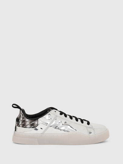 Diesel - S-CLEVER LOW LACE W, Silver - Sneakers - Image 1