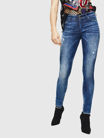 Diesel - Slandy 0090Q, Medium blue - Jeans - Image 1
