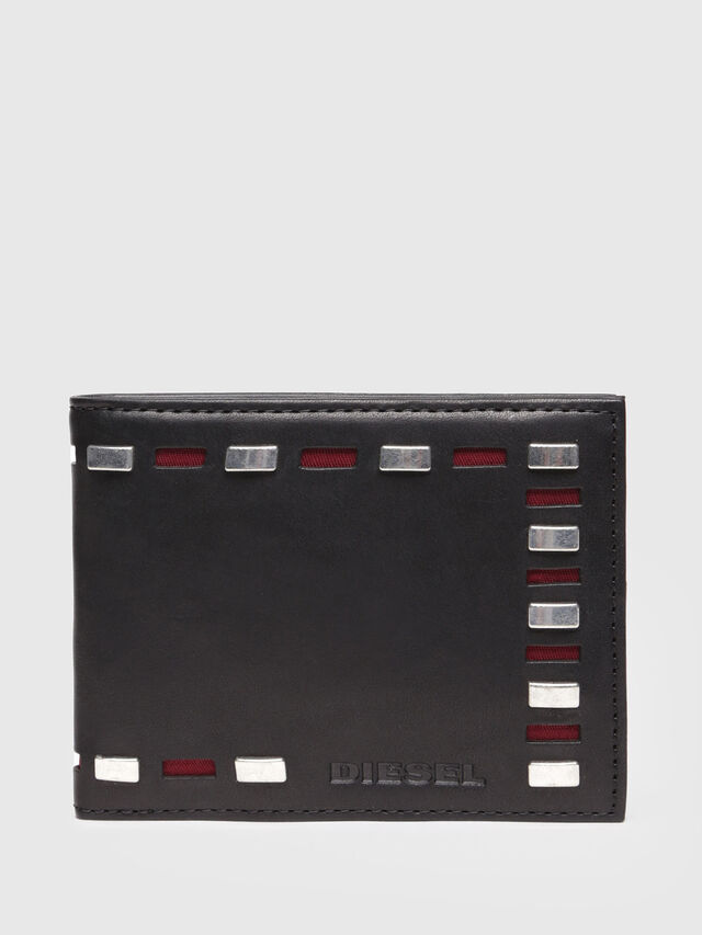 Diesel - NEELA XS, Black Leather - Small Wallets - Image 1
