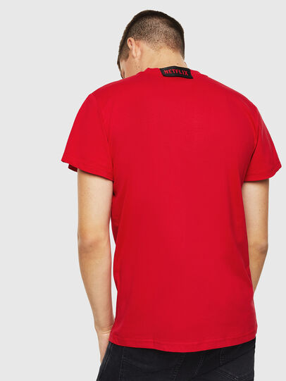 Diesel - LCP-T-DIEGO-RIO, Red - T-Shirts - Image 3