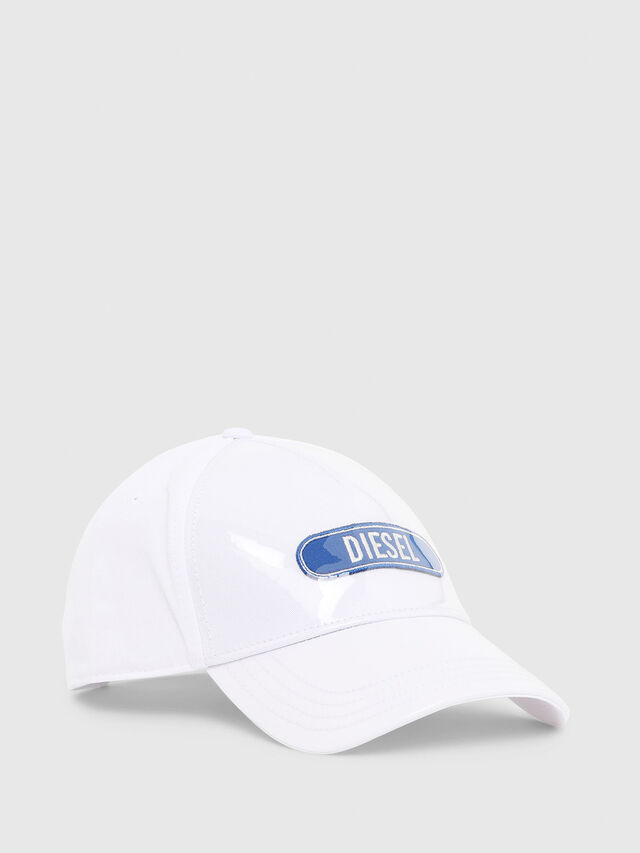 Diesel - C-TRASPY, White - Caps, Hats and Gloves - Image 1