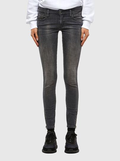 Diesel - Slandy Low 069MY, Black/Dark grey - Jeans - Image 1