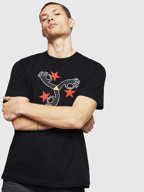 T-JUST-A12, Black - T-Shirts