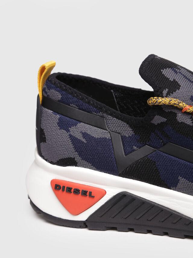 Diesel - S-KBY, Grey/Blue - Sneakers - Image 4