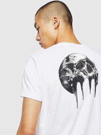 Diesel - T-DIEGO-J10, White - T-Shirts - Image 3