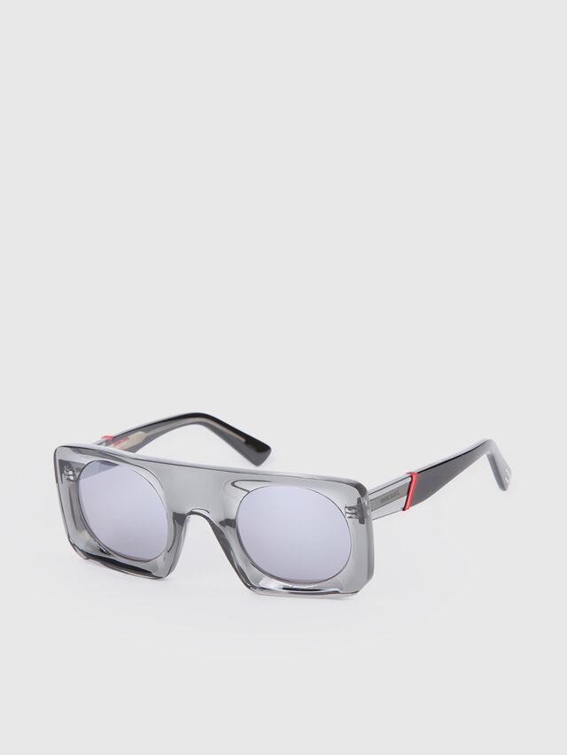 Diesel - DL0292, Gray/Black - Eyewear - Image 2