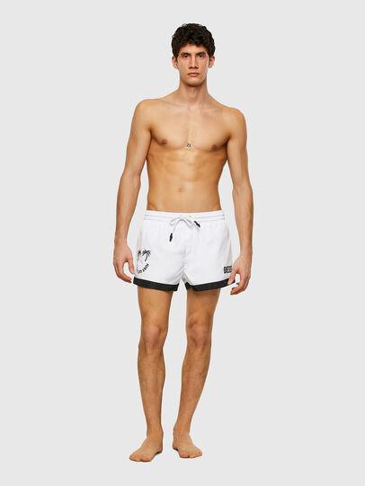 Diesel - BMBX-SANDY 2.017, White - Swim shorts - Image 1