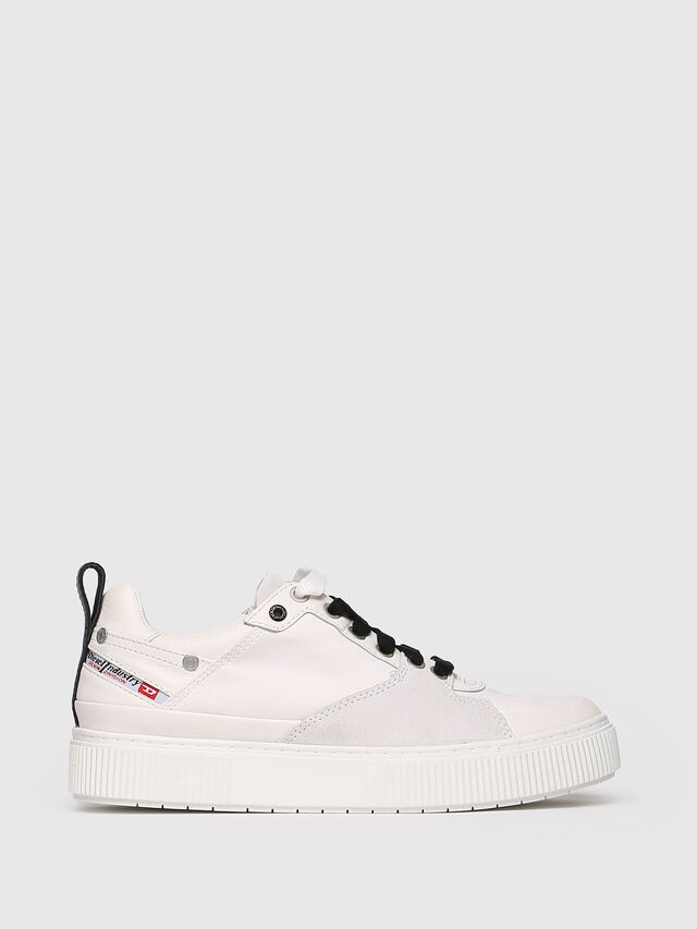 Diesel - S-DANNY LC W, White - Sneakers - Image 1