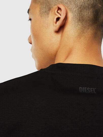 Diesel - T-JUST-J10, Black - T-Shirts - Image 4