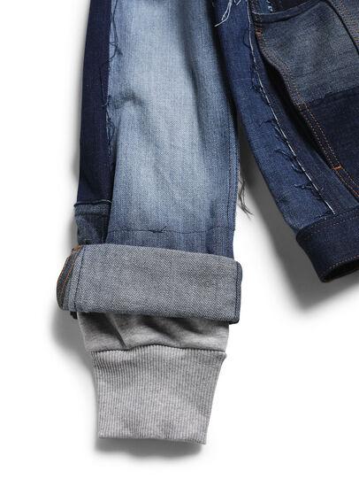 Diesel - D-OWNHILL55, Medium blue - Denim Jackets - Image 4