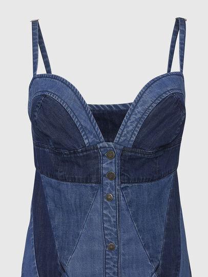 Diesel - DE-ARYNA, Light Blue - Dresses - Image 4