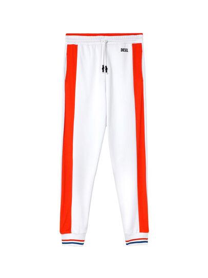 Diesel - UMLB-PETER-SP, White/Orange - Pants - Image 1