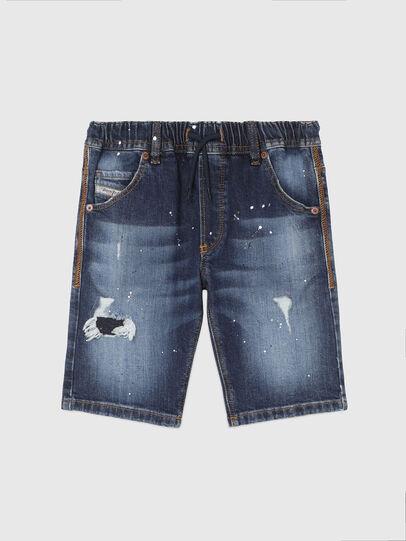 Diesel - KROOLEY-NE-J SH, Dark Blue - Shorts - Image 1