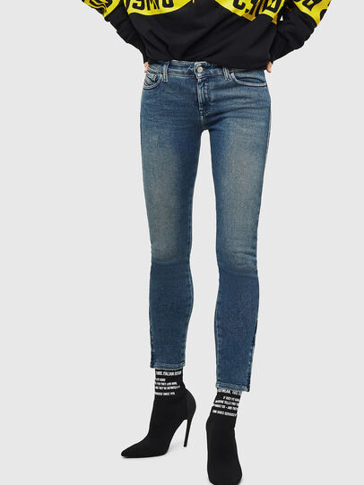Diesel - Slandy Zip 083AL, Medium blue - Jeans - Image 1