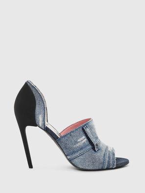 SA-SLANTY OTD, Blue Jeans - Sandals