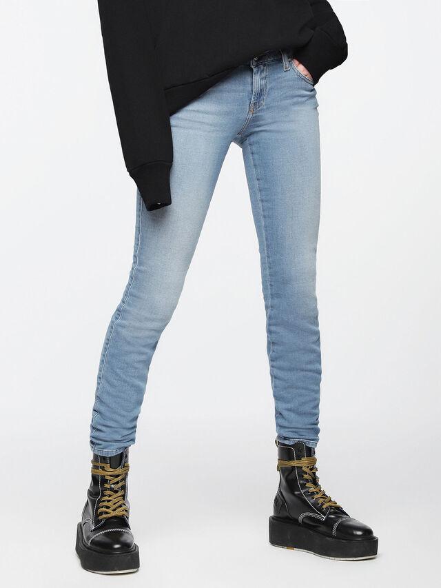 Diesel - Gracey JoggJeans 084UA, Light Blue - Jeans - Image 1
