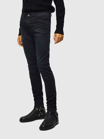 Diesel - D-Reeft JoggJeans 069KJ, Black/Dark grey - Jeans - Image 1