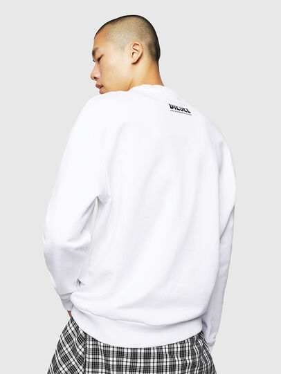 Diesel - S-LINK-MOHAWK, White - Sweaters - Image 2