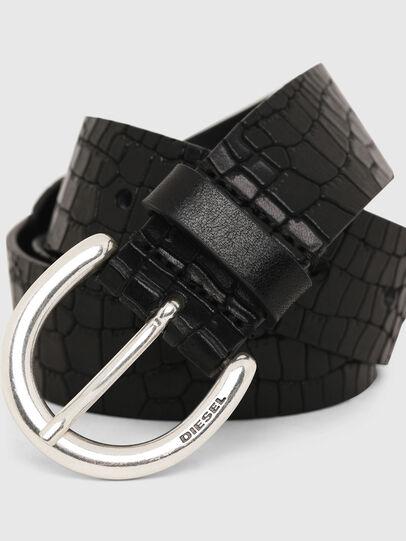 Diesel - B-CRICO, Black - Belts - Image 2