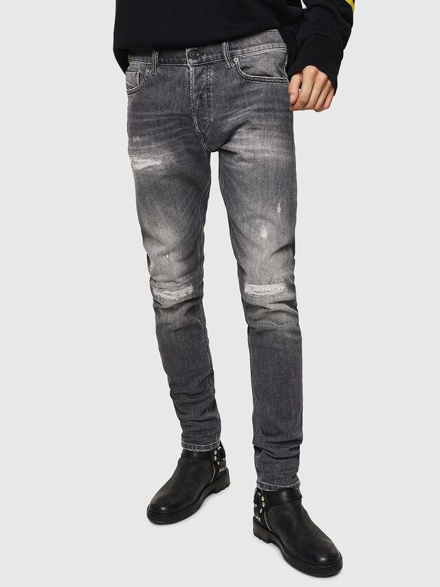 Diesel - Tepphar 0890F, Light Grey - Jeans - Image 1