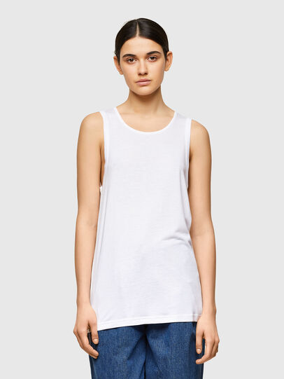Diesel - T-ANK-A1, White - T-Shirts - Image 1