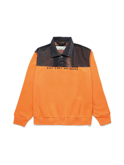 Diesel - D-BNHILL-S, Orange - Sweaters - Image 1