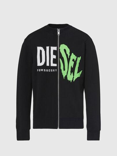 Diesel - K-LEDGER, Black - Knitwear - Image 1