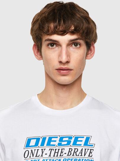 Diesel - T-DIEGOS-K20, White - T-Shirts - Image 3