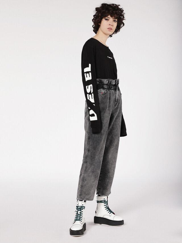 Diesel - Kalley JoggJeans 069AU, Black/Dark grey - Jeans - Image 4