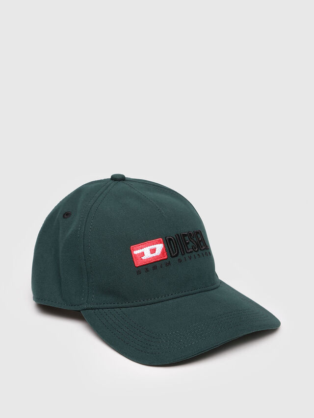 Diesel - CAKERYM-MAX, Bottle Green - Caps, Hats and Gloves - Image 1
