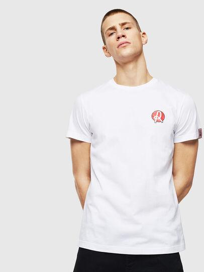 Diesel - LR-T-DIEGO-VIC, White - T-Shirts - Image 1