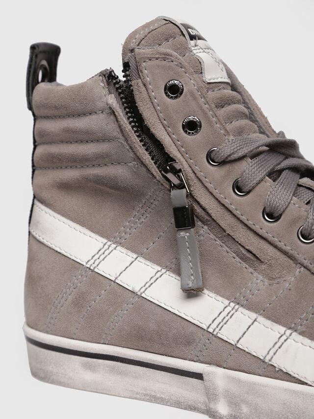 Diesel - D-VELOWS MID LACE, Grey - Sneakers - Image 4