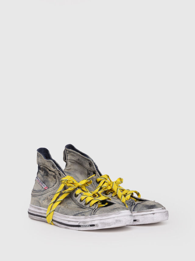 Diesel - EXPOSURE IV W, Grey/Blue - Sneakers - Image 3