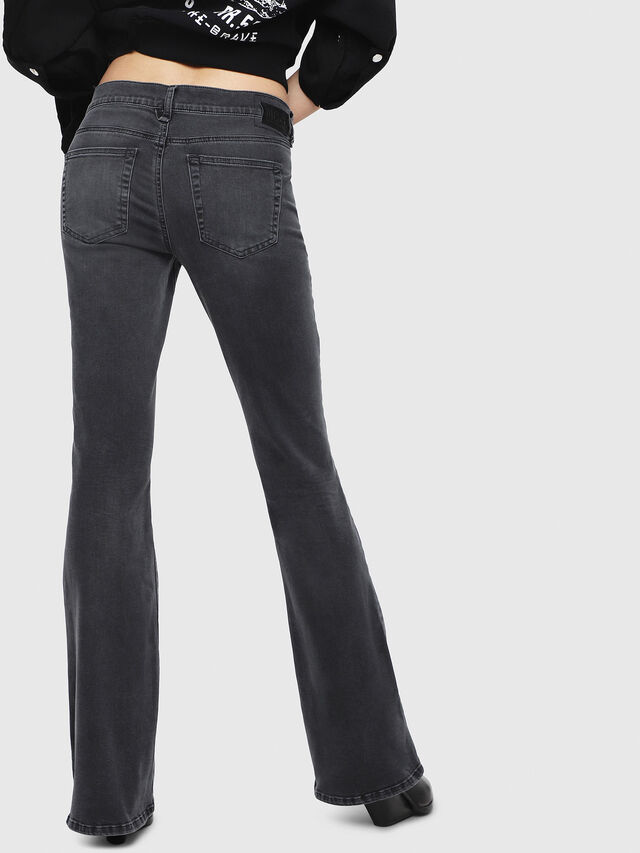 Diesel - D-Ebbey 069EQ, Black/Dark grey - Jeans - Image 2