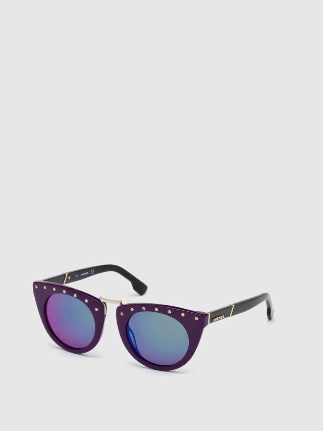 Diesel - DL0211, Violet - Eyewear - Image 3