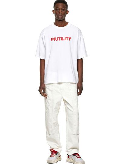 Diesel - T-BALM-B1, White - T-Shirts - Image 4