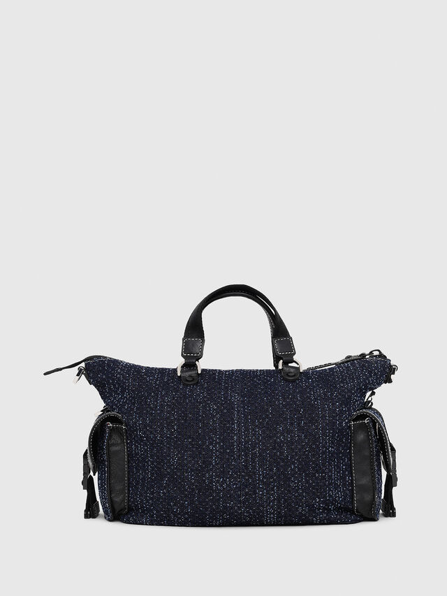 Diesel - MISS-MATCH SATCHEL M, Blue Jeans - Satchels and Handbags - Image 2
