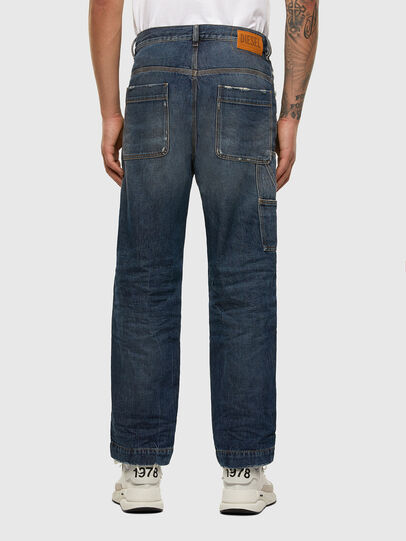 Diesel - D-Franky 009EW, Dark Blue - Jeans - Image 2