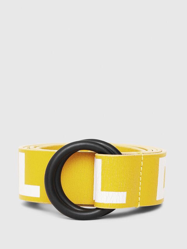 Diesel - B-LETTER, Yellow - Belts - Image 1